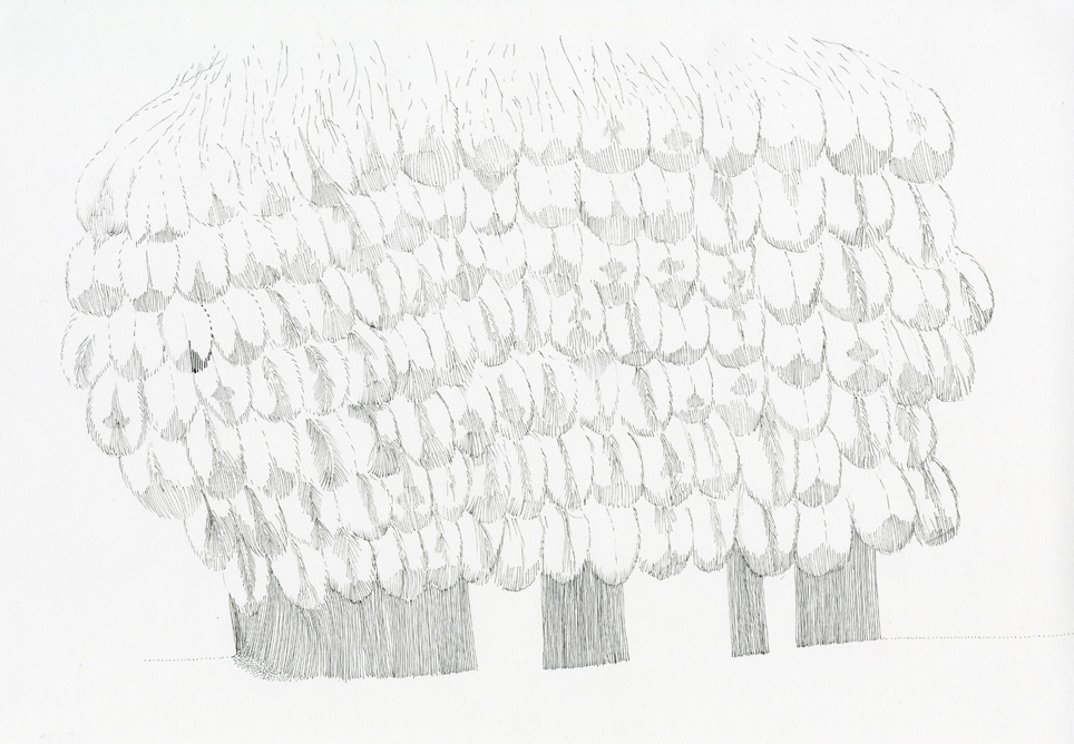 Series Of Drawings Ink Pen And Graphite Pencil On Paper Part The Source Resilience Project